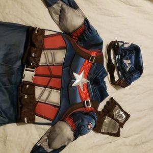 Disney store Halloween captain America costume